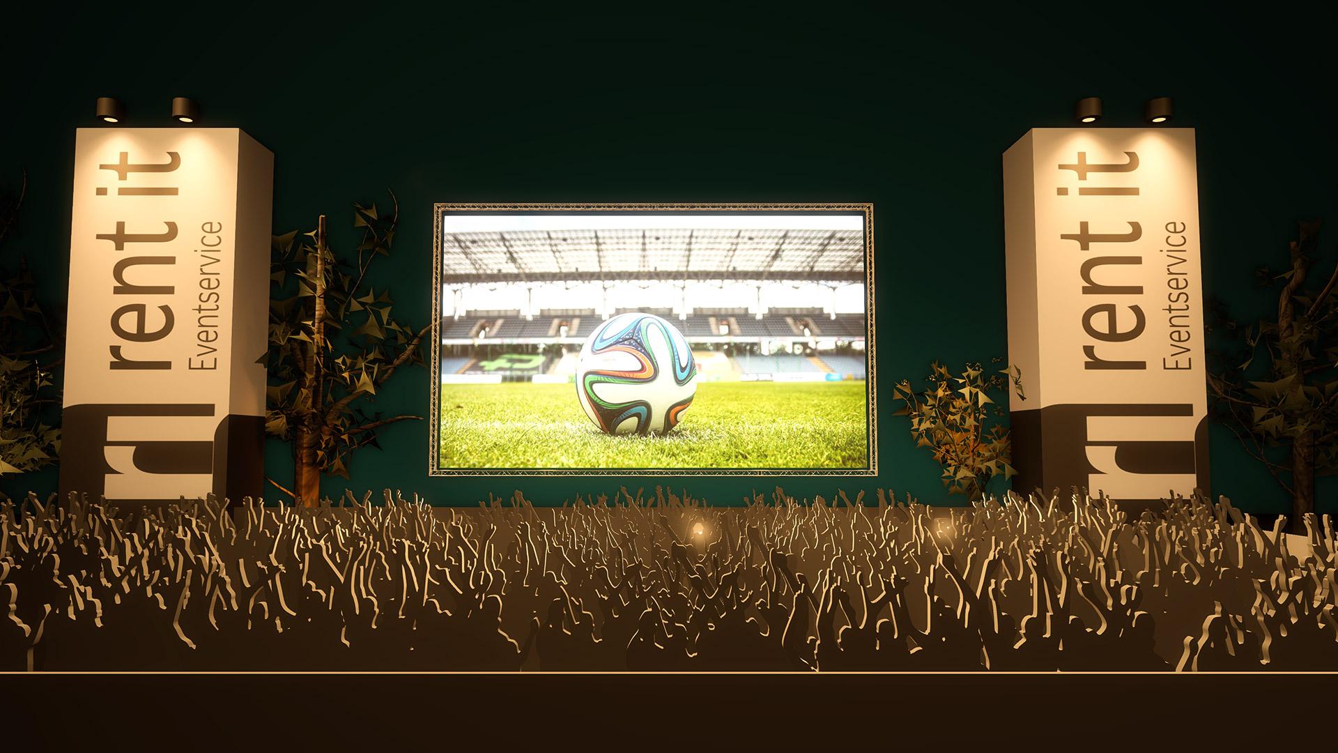 Foto: https://www.pexels.com/de-de/foto/feld-gras-sport-boden-47730 / Rendering: Max Schmalenberger / Konzept: rent it